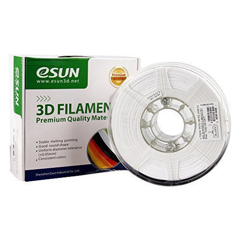 eSUN 3D PLA+ PLUS 1.75MM White 1KG 3D Printer Filament