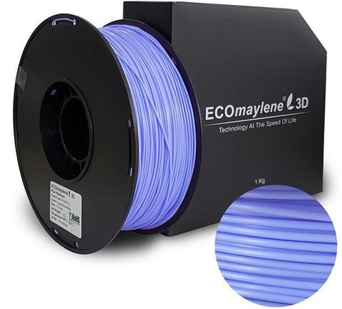 ECOmaylene3D PLA 1.75MM Aquamarine Blue 1KG 3D Printer Filament