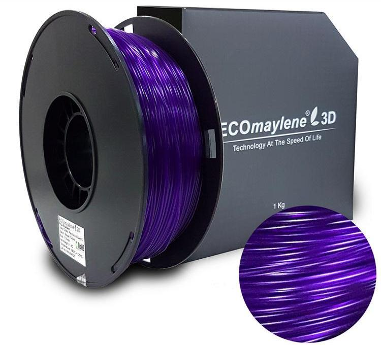 ECOmaylene3D PLA 1.75MM Royal Purple 1KG 3D Printer Filament