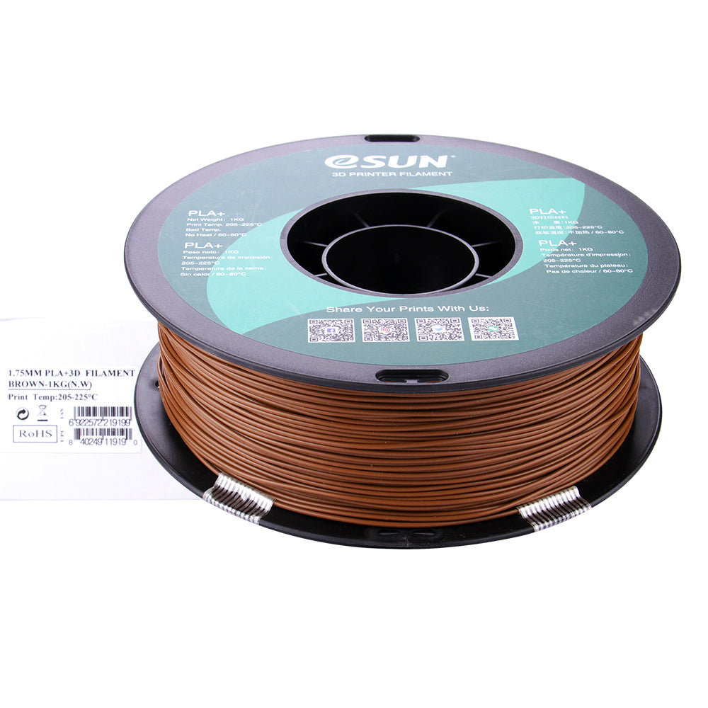eSUN PLA+ 1.75mm High Quality Filament 1KG for FDM 3D Printer