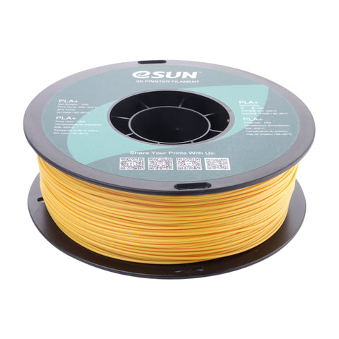 eSUN 3D PLA+ PLUS 1.75MM Gold 1KG 3D Printer Filament
