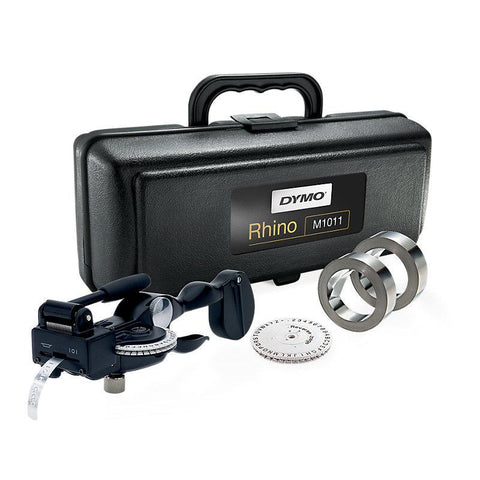Dymo Rhino M1011 Metal Tape Embossing System Kit