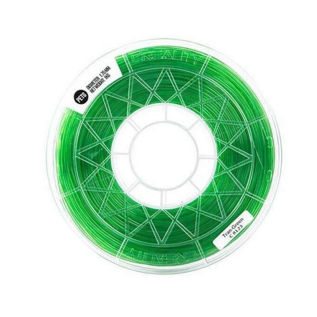CREALITY 3D Transparent Green 1.75mm PETG Filament High Quality 1KG for FDM 3D Printer