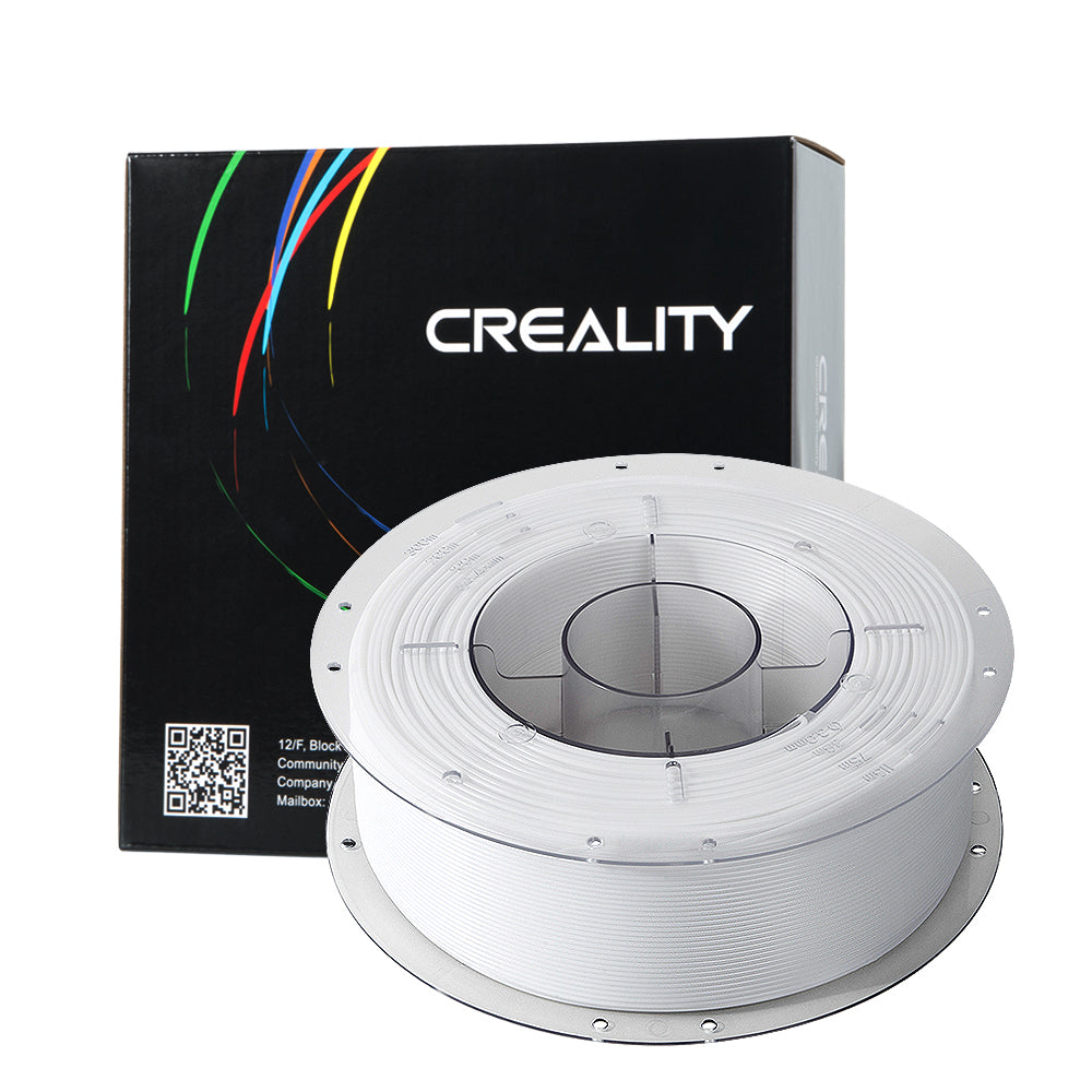CREALITY 3D White 1.75mm PETG Filament High Quality 1KG for FDM 3D Printer
