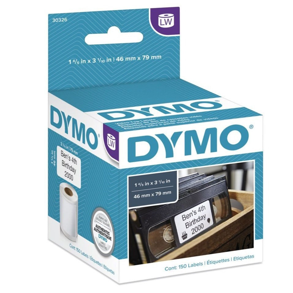 Dymo 30326 Video Top Labels 46mm x 79mm