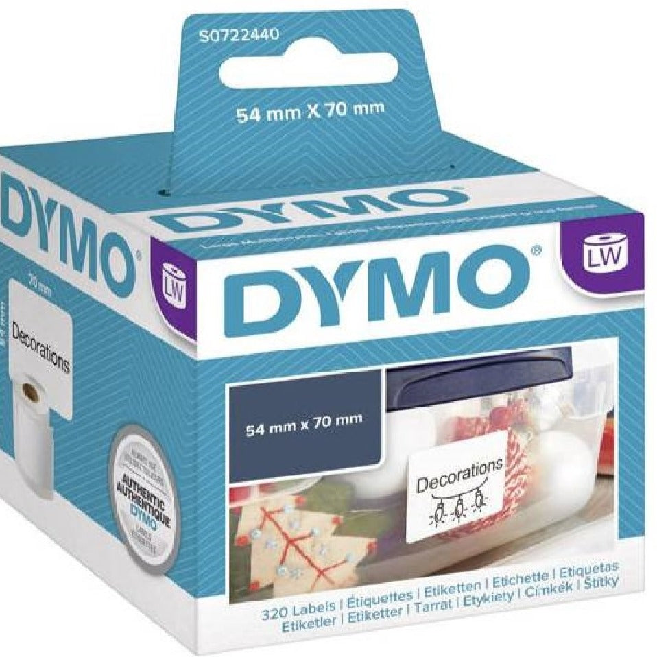 Dymo 99015 Large Multifunctional Labels 70mm x 54mm