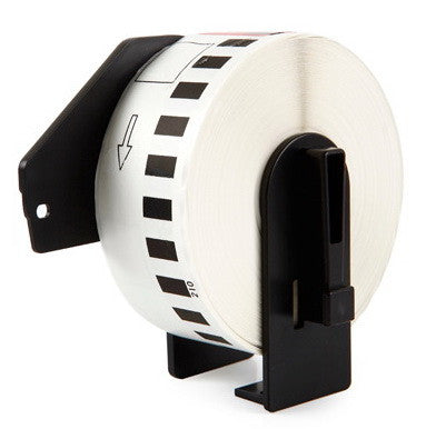 Compatible Brother DK-22211 29mm x 15.24m Continuous Length Film Tape (Black On White)