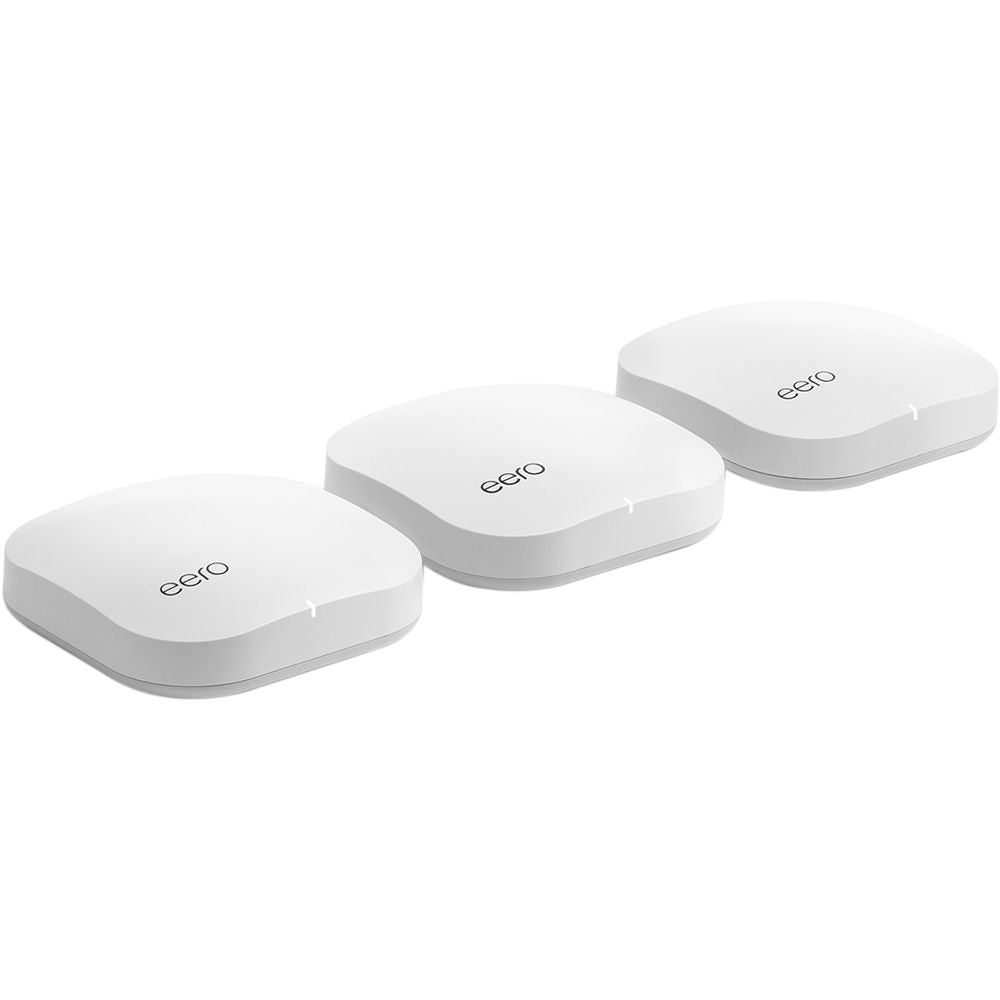 Eero Pro Wi-Fi System (3 Eeros) - Advanced Tri-Band True Mesh Network (2nd Generation)