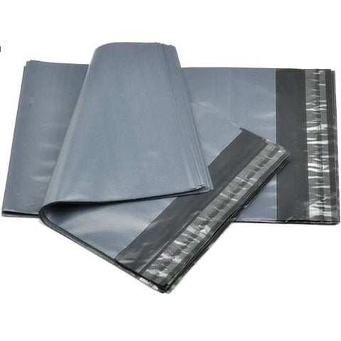 Grey Poly Mailer - 220mm x 320mm + 40mm