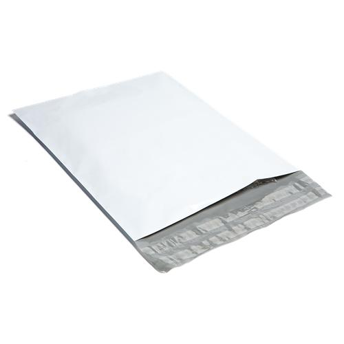 White Poly Mailer - 380mm x 480mm + 40mm