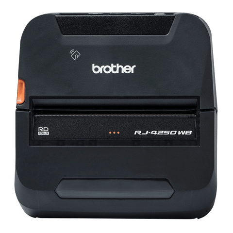 Brother RuggedJet RJ-4250WB Mobile Bluetooth Wireless Receipt Printer