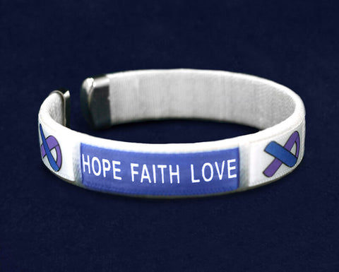 Rheumatoid Arthritis Awareness Bangle Bracelet
