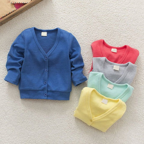 Child V-neck Cardigan