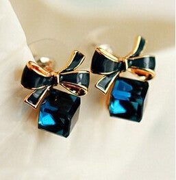 Blue Kiss Earrings