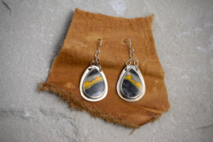 Bumblebee Jasper Earrings
