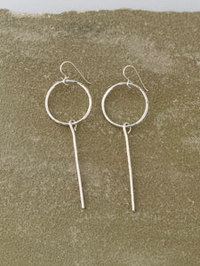 Circle Stick Earring