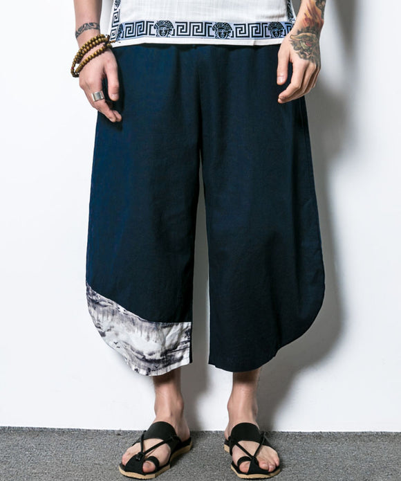 Alejandro Drawstring Harem Pants (Non-Returnable)