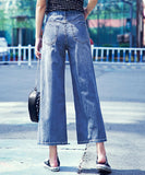 Crystal Denim Pants (Non-Returnable)