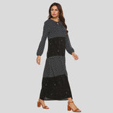 Bidelia Patterned Dress (Non-Returnable)