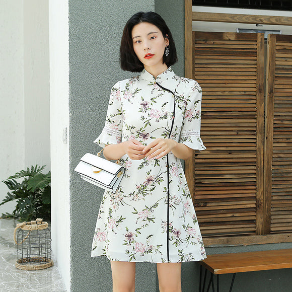 Dora Cheongsam Dress (Non Returnable)
