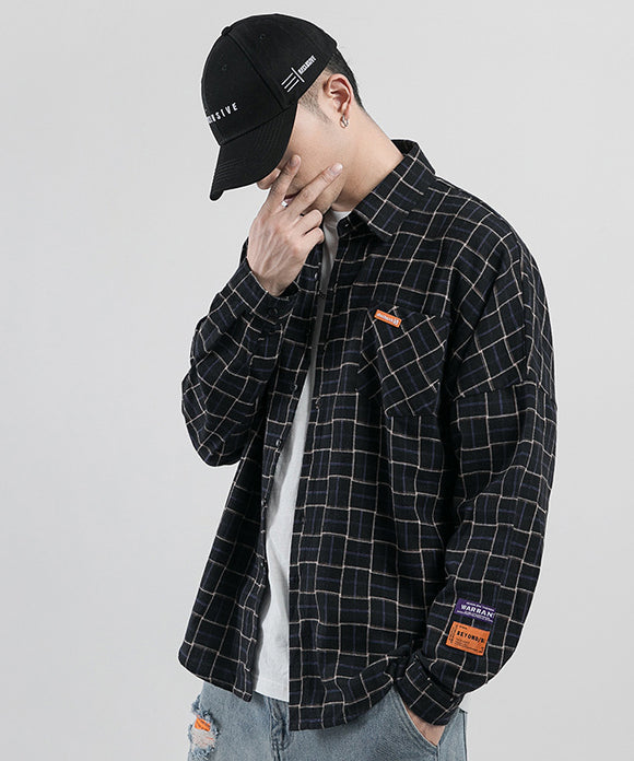 Aldrick Checkered Long Sleeve Shirt