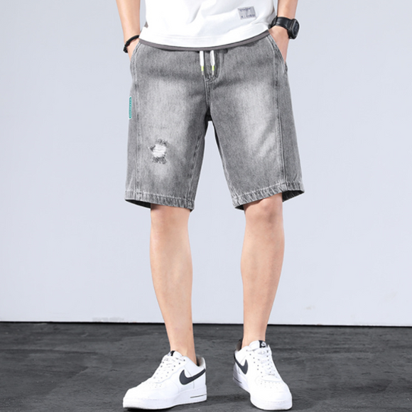 Joseph Denim Drawstring Shorts
