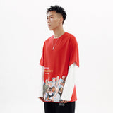 Alarick Fake Two-Piece Long Sleeve T-Shirt (Non-Returnable)