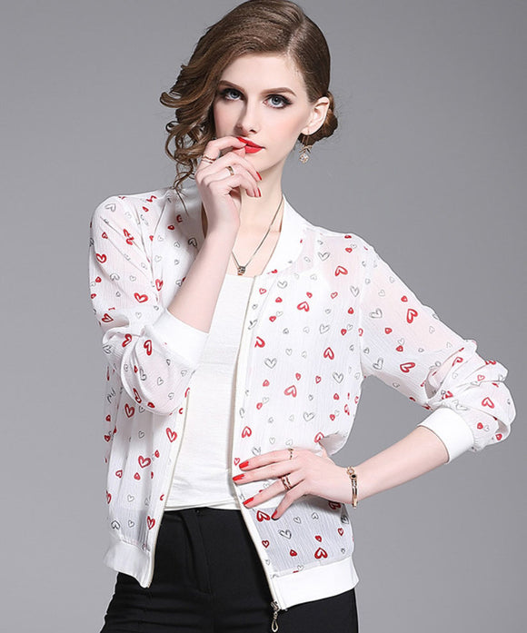 Morgan Chiffon Jacket