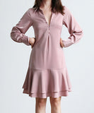 Luciana Shirt One Piece Dress (Non-Returnable)