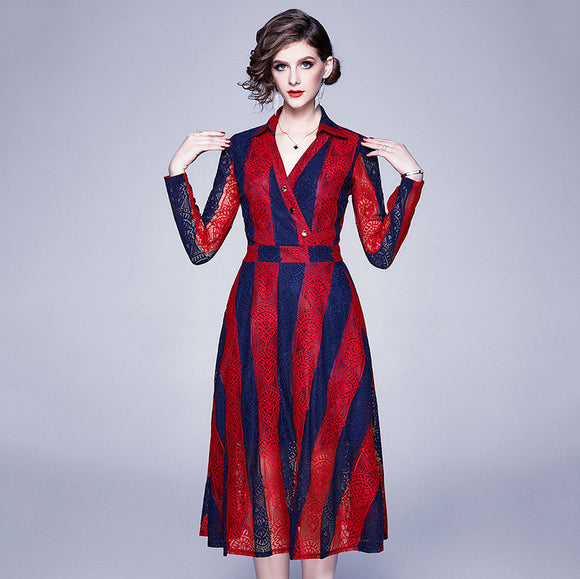 Amina Long Sleeves Dress