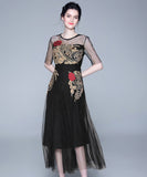 Demi Embroidery Dress (Non-Returnable)