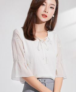 Kelly Chiffon Top (Non-Returnable)