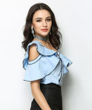Kaitlyn Frill Blouse (Non-Returnable)
