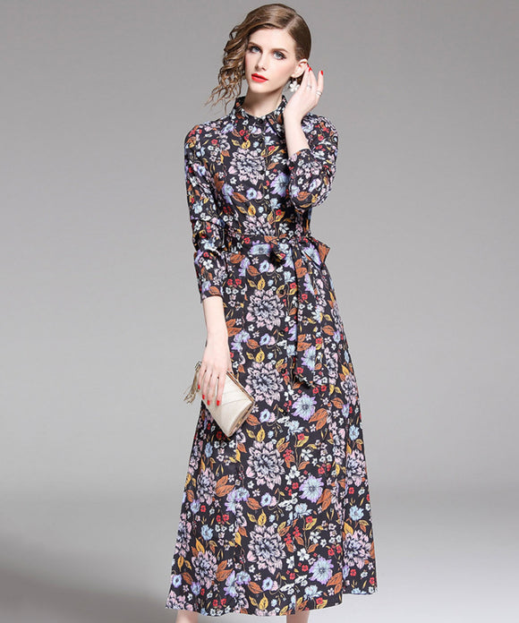 Aly Printed Dress (Non-Returnable)