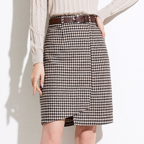 Dallas Checked Skirt