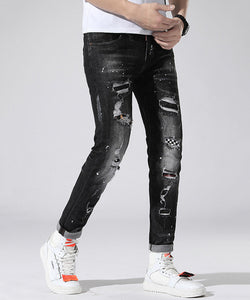 Ryder Ripped Slim Fit Jeans (Non-Returnable)