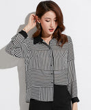 Anastasia Striped Blouse