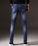 Lannie Scratched Slim Fit Jeans