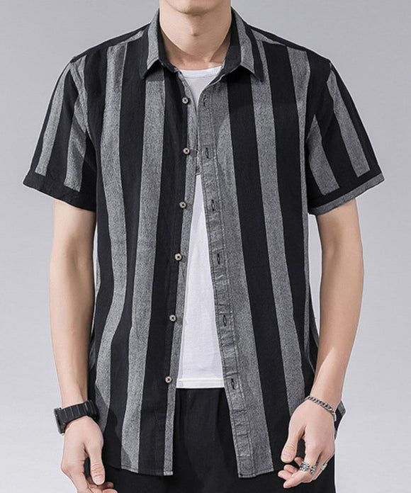 Antonio Stripe Short Sleeve Shirt