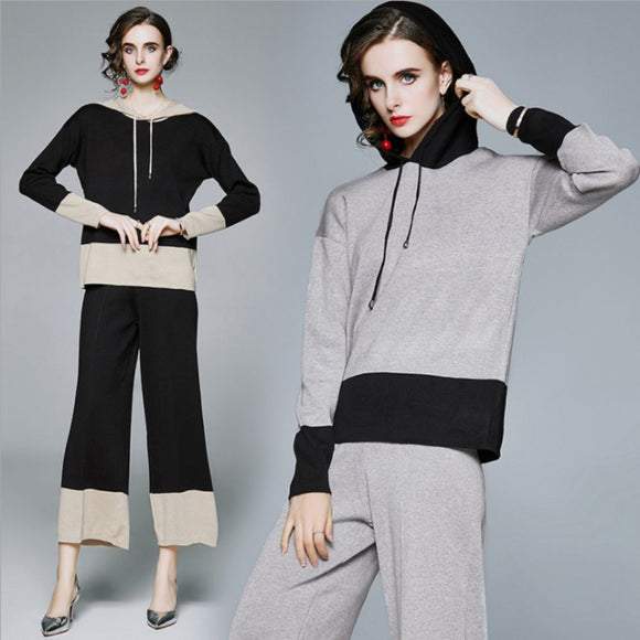 Hazel Knit Sweater & Pants Two-Piece set