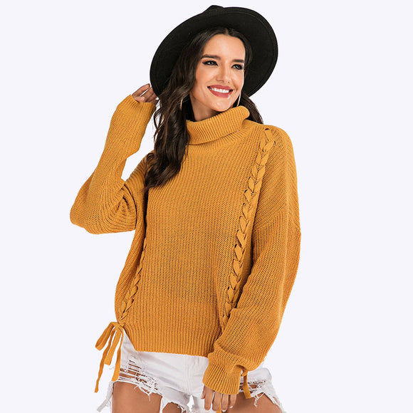 Inocencia Knitted Turtleneck Top