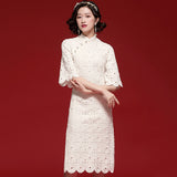 May Lace Cheongsam