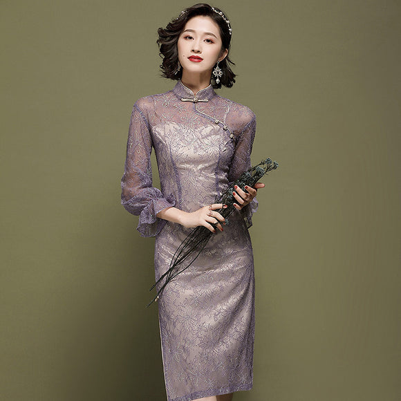 Everey Lace Cheongsam