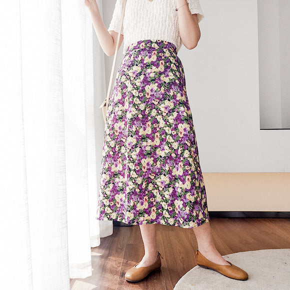 Felencia Floral Skirt (Non-Returnable)