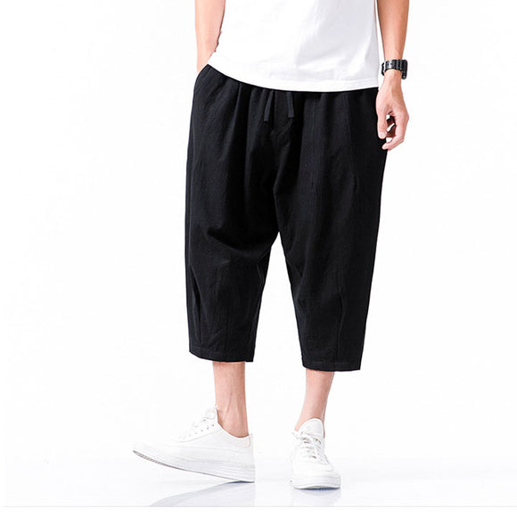 Michael Loose Capri Pants