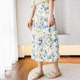 Nancie Floral Skirt (Non-Returnable)