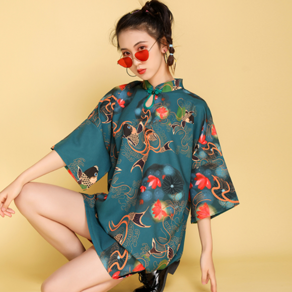 Kennedy Loose Fitting Cheongsam