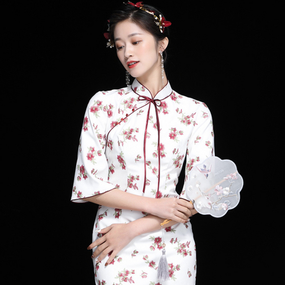 Bella Cheongsam Dress
