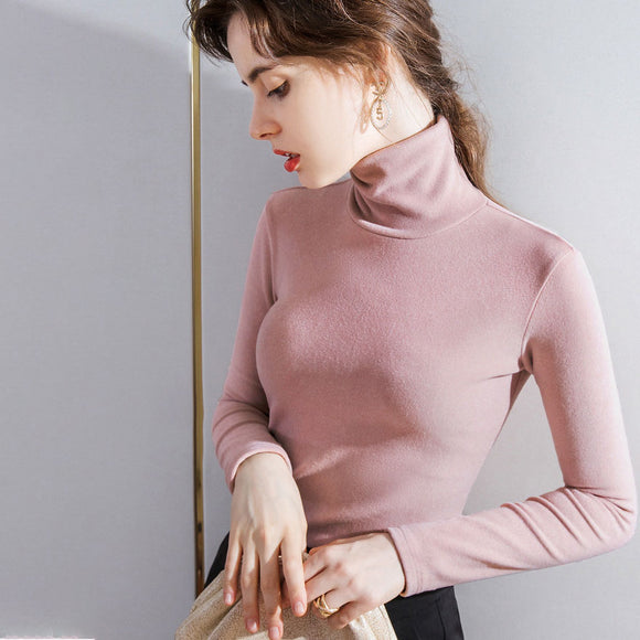 Aria Turtleneck Knit Top