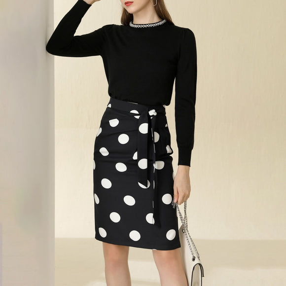 Mandy Polka Dot Skirt